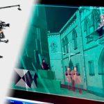 On-Set Real Time Camera Tracking - Virtual Studio Visualisation - Laser Camera Tracking - China