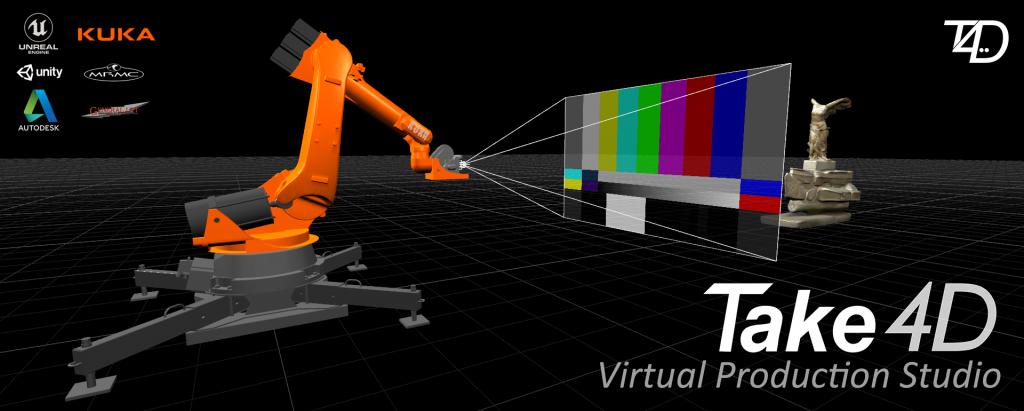 Take4D Virtual Production Studio